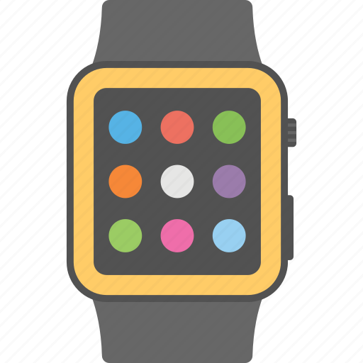 android watch, android wear, smart watch, smartphone, wrist watch icon