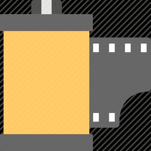 camera reel, film reel, photo reel, photo strip, polaroid photo icon