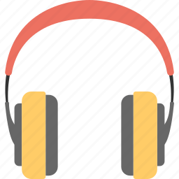 earphone, hands free, headphone, listening device, wireless headphone icon