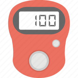 digital counter, finger counter, finger tally, mini counter, tally counter icon