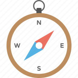 compass, directions, gps, navigation, vintage compass icon