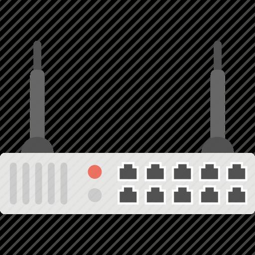 internet device, net access, net router, wifi modem, wireless router icon