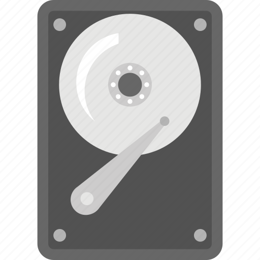 fixed disc, hard disc, hard drive, secondary drive, storage device icon