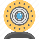 cctv camera, dome camera, security camera, surveillance monitoring cam icon