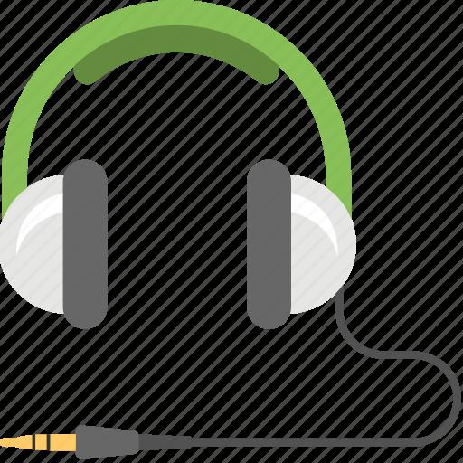 audio device, earphone, hardware, headphone, headset, wired headphone icon