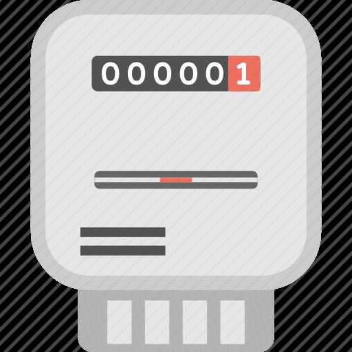 domestic meter, electric meter, gas meter, residential gas meter, smart meter icon