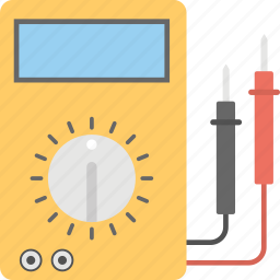 amp meter, analog voltmeter, multimeter, voltage, voltmeter icon