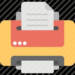 digital printer, hardware, laserjet, office equipment, printer icon