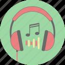 headphones, audio, earphone, headset, listen, music, sound