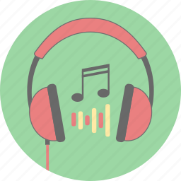 audio, earphone, headphones, headset, listen, music, sound icon