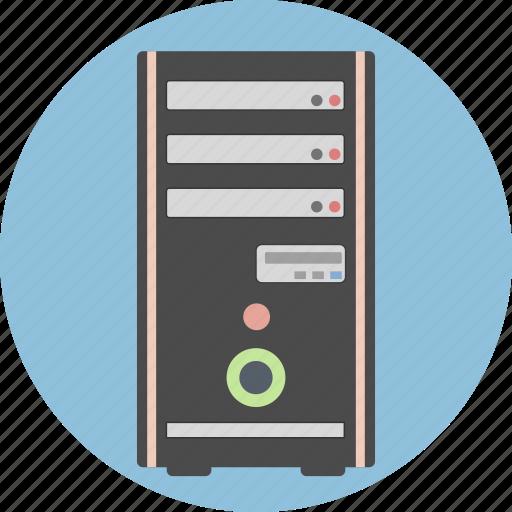 computer, data, desktop, hardware, pc, server, technology icon