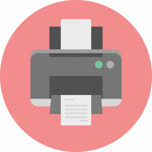 a4, document, hp, paper, print, printer, printing icon