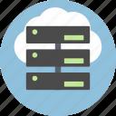 server, cloud, connection, data, database, storage, cms