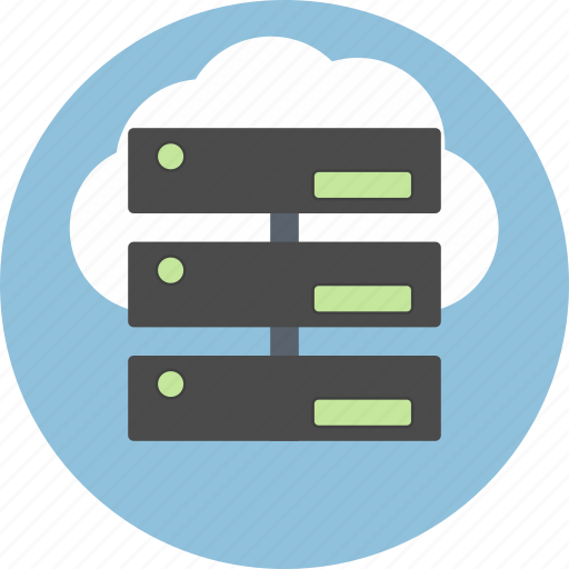 cloud, cms, connection, data, database, server, storage icon