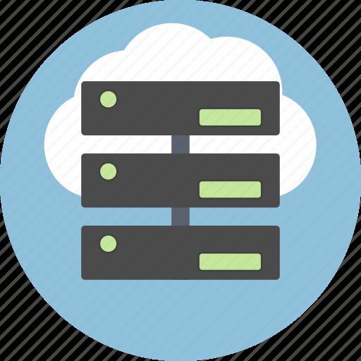 cloud, cms, connection, data, database, server, storage icon