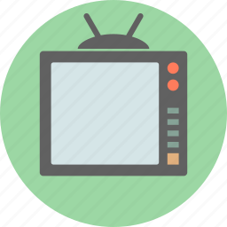 display, lcd, monitor, retro, screen, television, tv icon