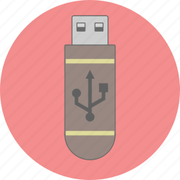 data, file, flash, information, plug, storage, usb icon