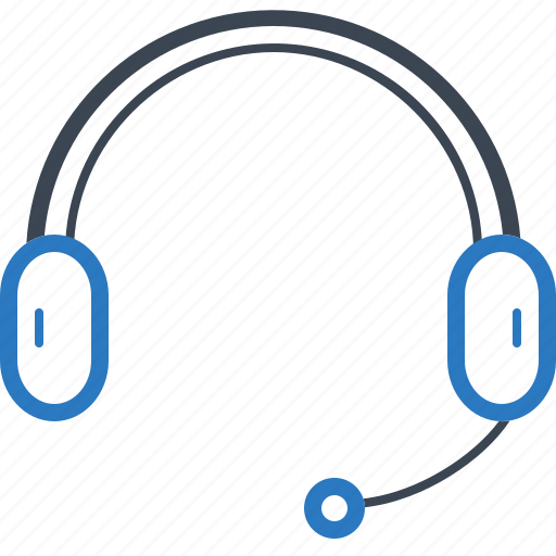 Earphone, headphone, mike, support icon - Download on Iconfinder
