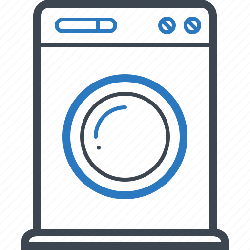 Household, laundry, machine, washing icon - Download on Iconfinder