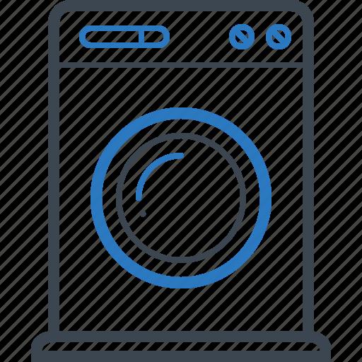 household, laundry, machine, washing icon