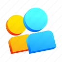 friends, game, multiplayer, users icon