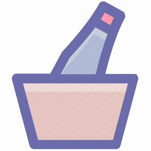 Alcohol, beer, beer bucket, drink, fresh beer, iced beer icon - Download on Iconfinder