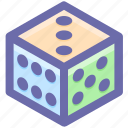board game, casino dices, cubes, cubes dices, dices, gambling, game icon