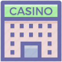 abject, architecture, building, casino, gambling, game, object icon