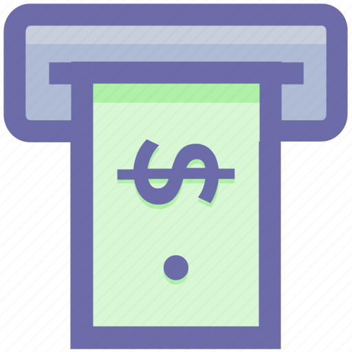 Atm, atm machine, cash machine, cash out, transaction, withdrawal icon - Download on Iconfinder