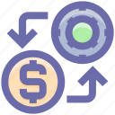 casino chip, dollar, dollar investment, game, game investment, game of chance, investment icon