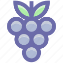 casino, eating, food, gambling, game, grapes icon