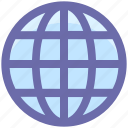 earth, global, globe, internet, world, world globe icon