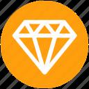 .svg, diamond, gem, gemstone, jewel, precious stone icon