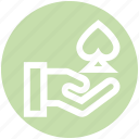 .svg, ace, casino, gambling, game, hand, poker game icon