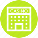 .svg, architecture, building, casino, gambling, game, object icon