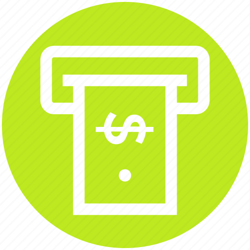 .svg, atm, cash machine, cash out, transaction, withdrawal icon