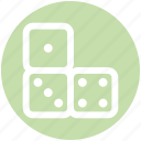 .svg, board game, casino, dices, gambling, game icon