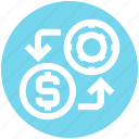 .svg, casino chip, dollar, dollar investment, game investment, game of chance icon