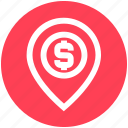 .svg, direction, dollar sign, location, map location, map pin, pin icon
