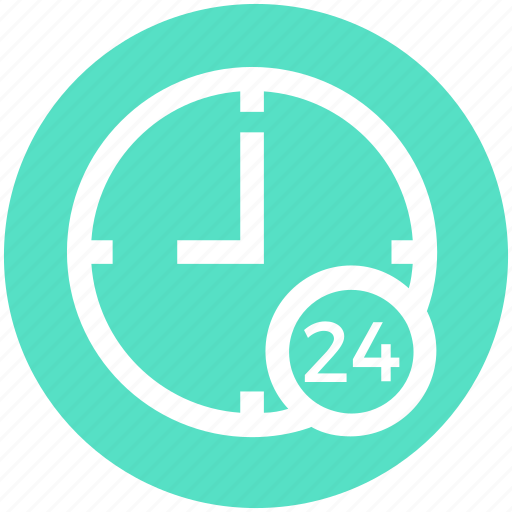 .svg, all time open, clock, customers, service, support, time icon