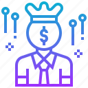 casino, gambling, greedy, money icon
