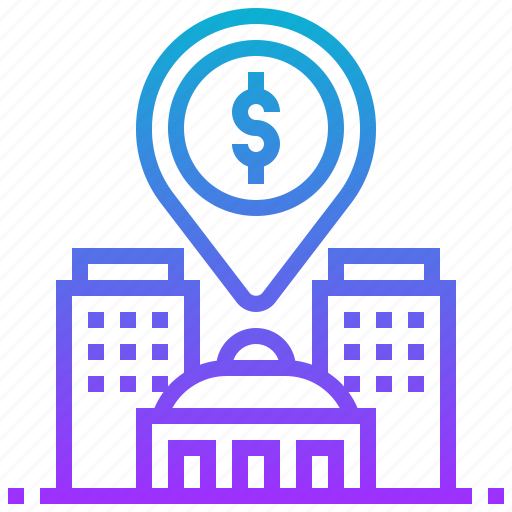 building, casino, gambling, location, risk, tower icon