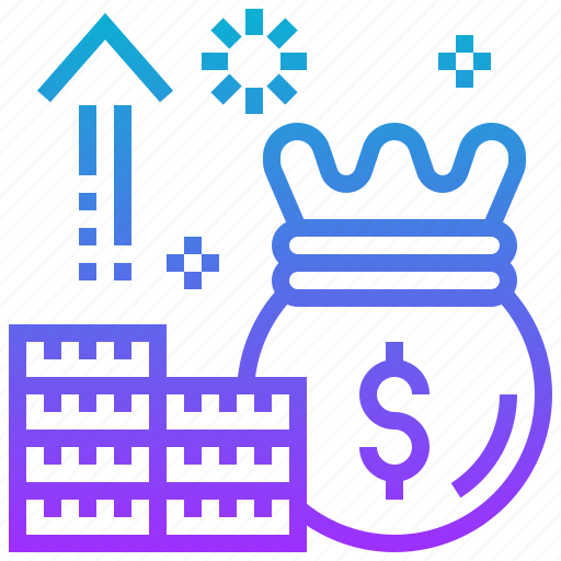 casino, currency, gambling, growth, lucrative, money icon
