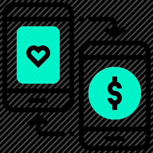 casino, gambling, mobile, online, smartphone icon
