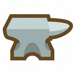 anvil, blacksmith, forge, game, smelt, strengthen, weapon icon