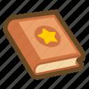 book, game, guide, magic book, manual, education, reading