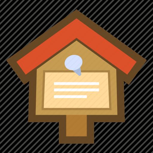 board, bulletin, bulletin board, game, notice, noticeboard icon