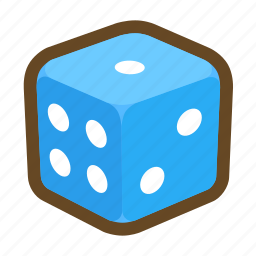 casino, dice, fortune, gambling, game, luck, wager icon