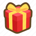 box, christmas, delivery, game, gift, present, reward