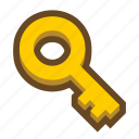 fasten, game, key, lock, open, password, security icon
